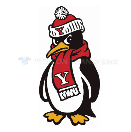 Youngstown State Penguins Logo T-shirts Iron On Transfers N7096